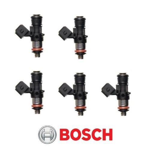 genuine bosch ev1  ev14 157lb  1650cc short fuel injectors 0280158333  set of 5