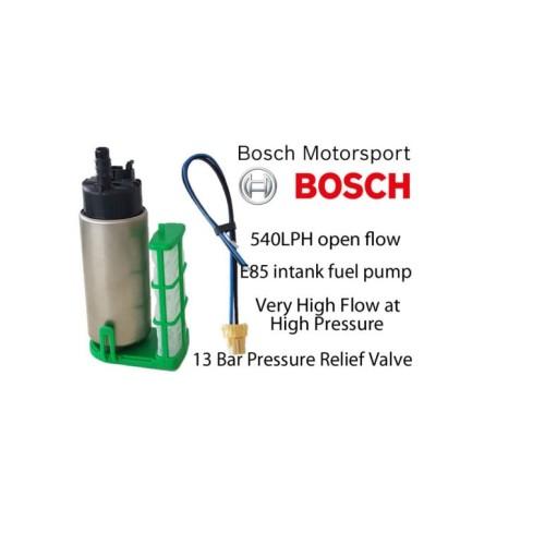 Genuine Bosch Motorsport In-Tank E85 540LPH Fuel Pump #BR540 In Tank Bosch E85