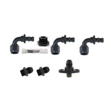 Nissan Fuel Pressure Regulator AN Fitting Kit 6AN - AEM AEROMOTIVE FUELAB