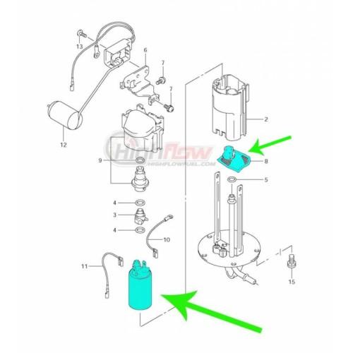 New Fuel pumps for Suzuki GSX650F GSX 650F 2008-2013 T35