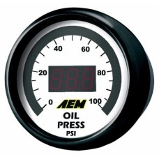 AEM DIGITAL OIL / FUEL PRESSURE Gauge 0-100PSI   30-4401