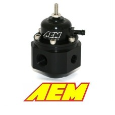 AEM  Universal Adjustable Fuel Pressure Regulator **FREE GAUGE INCLUDED**