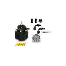 AEM  Universal Adjustable Fuel Pressure Regulator & Universal AN Fittings DIY Kit