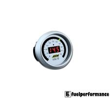 AEM DIGITAL VOLTMETER DISPLAY GAUGE PN: 30-4400 ( 8 TO 18V )