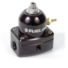 Fuelab 51502-1 Universal Black EFI Adjustable Fuel Pressure Regulator  **With Gauge**